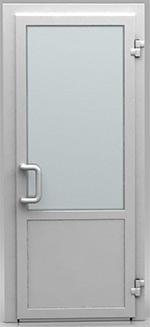 Алюминиевая дверь из холодного профиля